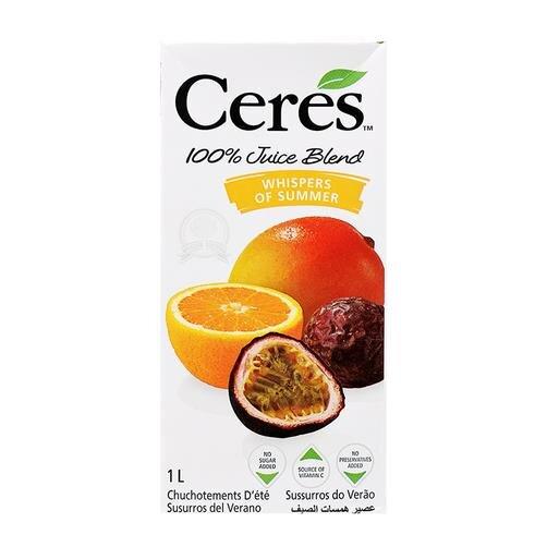 Nước ép trái cây hỗn hợp chanh dây Ceres hộp 1L