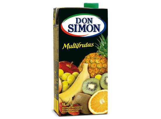 Nước ép trái cây hỗn hợp Don Simon – hộp 1L