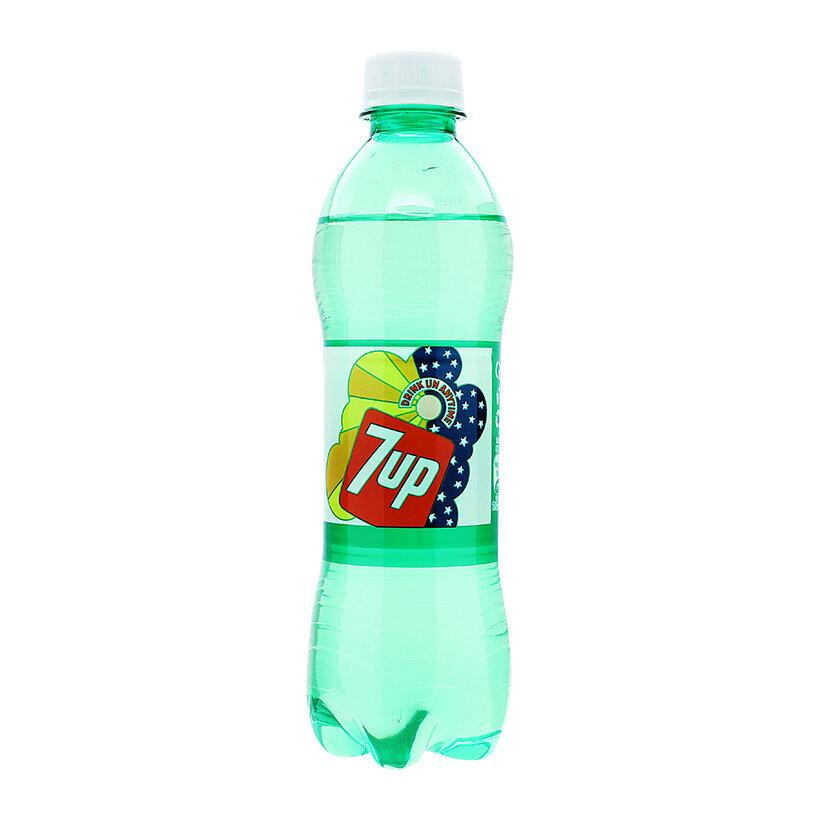 Nước giải khát có gas 7 Up chai 390ml