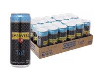 Nước giải khát Evervess Club Soda - 330ml, 24 lon