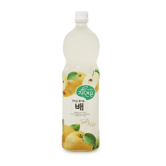 Nước giải Khát WoongJin Lê tự nhiên chai 1.5L