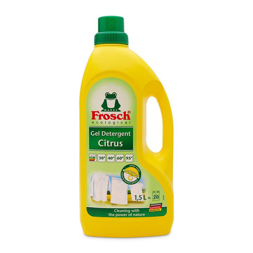 Nước giặt hương cam chanh Frosch 1500ml