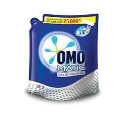 Nước Giặt OMO Matic Túi Cửa Trước 2.7kg