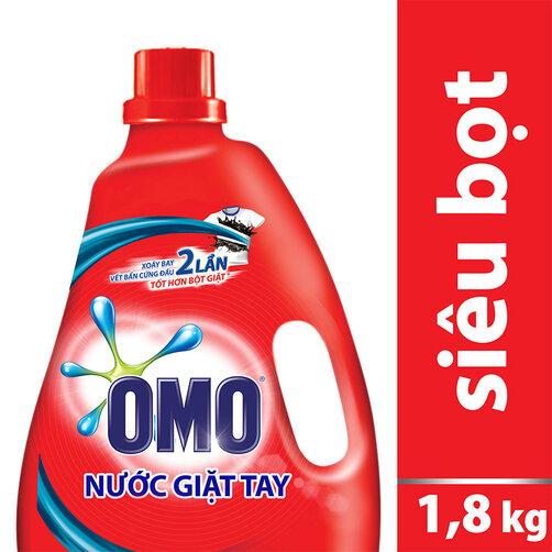 Nước giặt tay OMO 10x 1.8kg