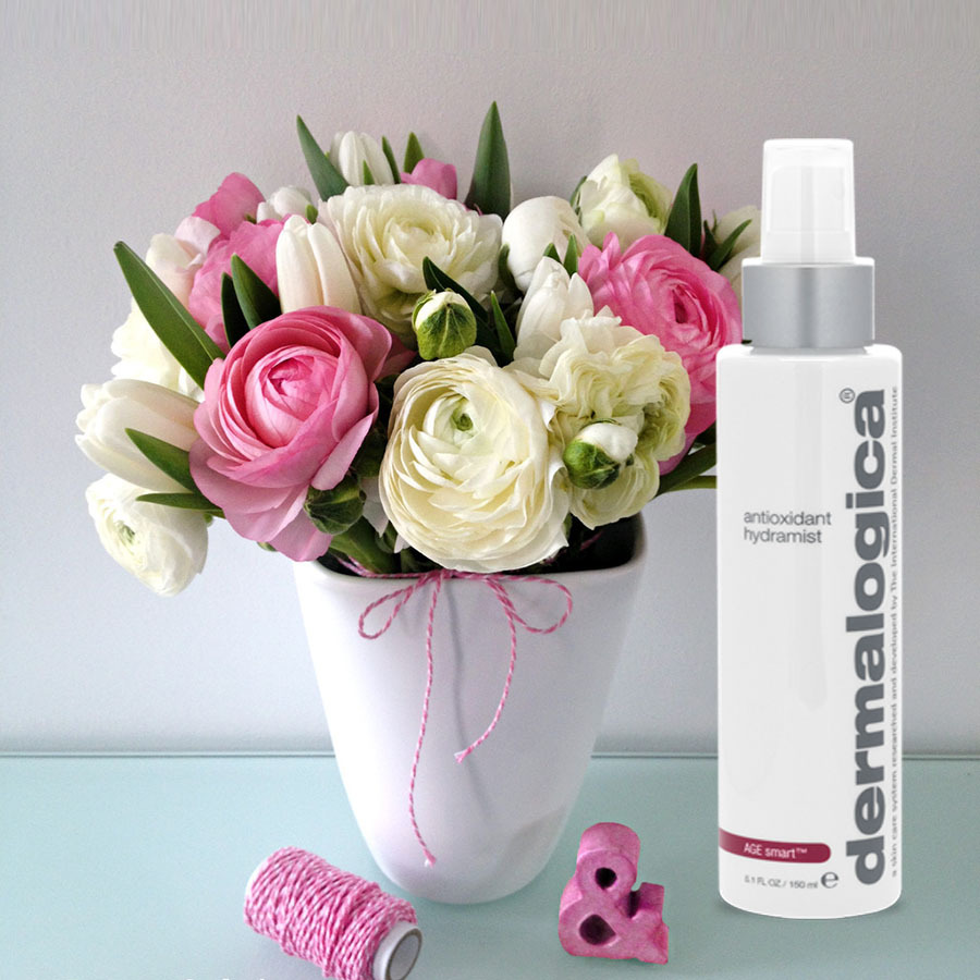 Nước hoa hồng chống lão hoá da Age Smart Dermalogica Antioxidant Hydramist 150ml