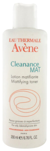 Nước hoa hồng da dầu và mụn Avène Cleanance Mat Lotion Matifiante