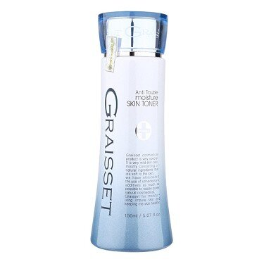 Nước Hoa Hồng Dưỡng Ẩm Dùng Cho Da Nhạy Cảm Graisset Anti Trouble Moisture Skin Toner 150ml