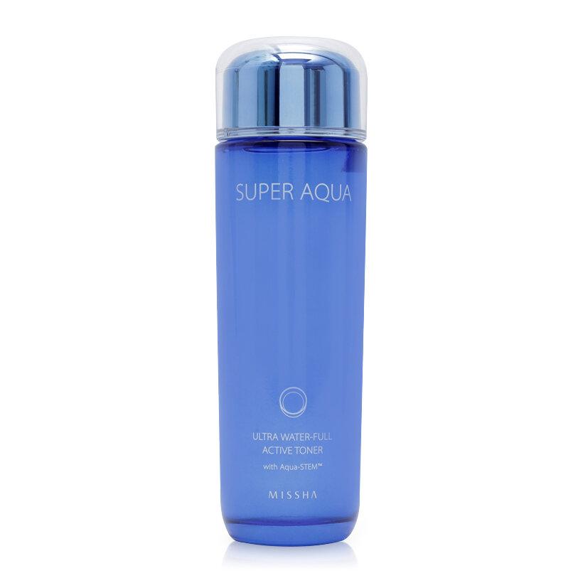 Nước hoa hồng dưỡng ẩm Missha Super Aqua Ultra Water-Full Active Toner