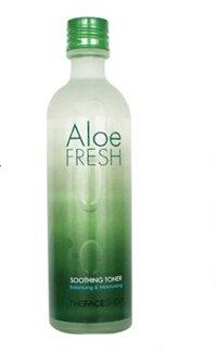 Nước hoa hồng dưỡng ẩm nha đam Aloe Fresh Soothing Toner THE FACE SHOP