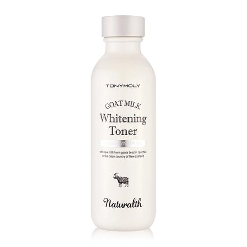 Nước hoa hồng dưỡng trắng Tonymoly Naturalth Goat Milk Whitening Toner 150ml