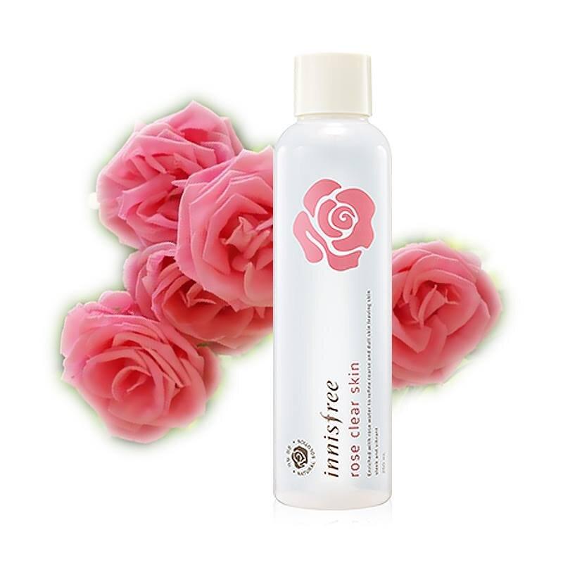 Nước hoa hồng Innisfree Rose Clear Skin