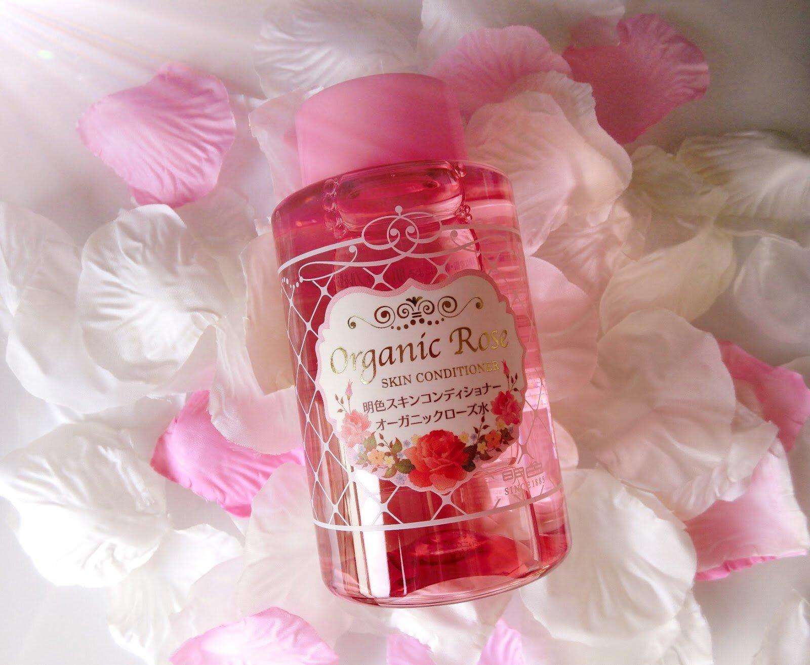 Nước hoa hồng Meishoku Organic Rose