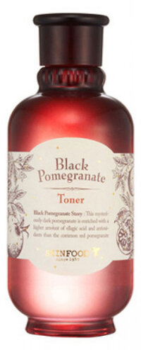 Nước hoa hồng Skinfood Black Pomegranate Toner 180ml