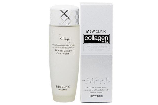 Nước hoa hồng Trắng da 3W Clinic Collagen Clear Softener