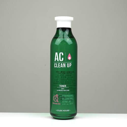 Nước hoa hồng trị mụn Etude House AC Clean Up Toner 200ml