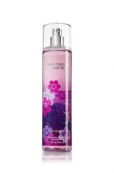 Nước hoa xịt toàn thân Black Raspberry Vanilla - Body Mist - Bath & Body Works