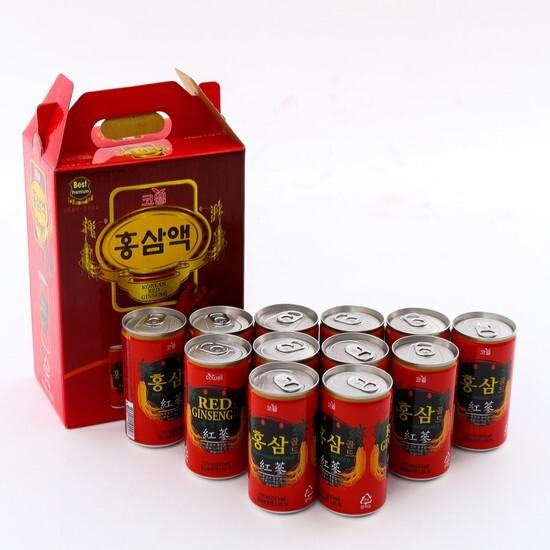 Nước hồng sâm Hàn Quốc thanh nhiệt, mát gan (12 lon)