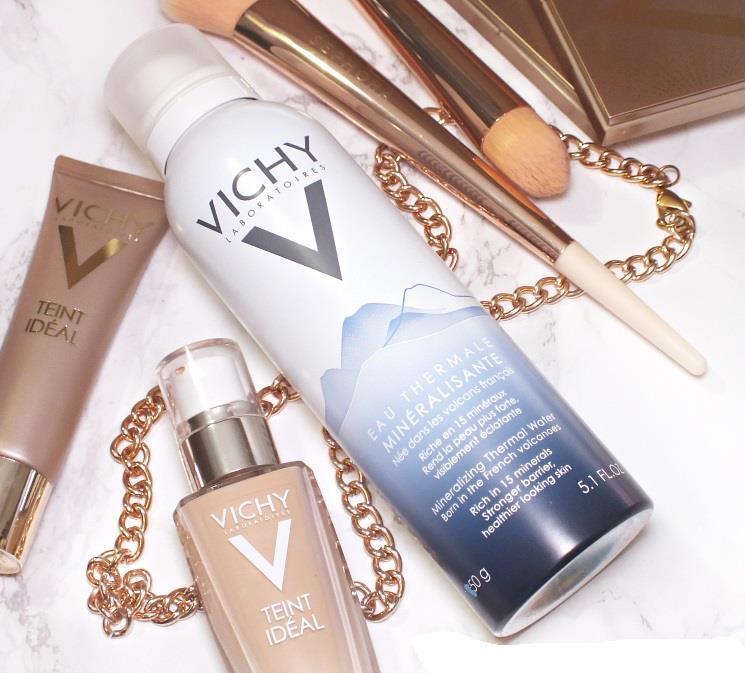 Nước khoáng dưỡng da Vichy purete thermale thermal spa water 50ml