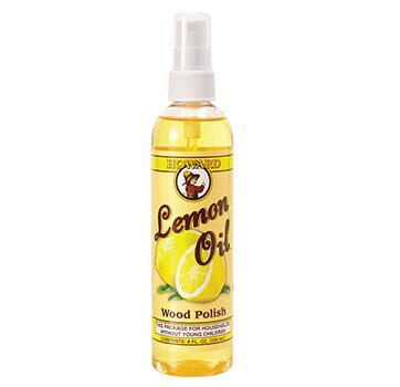 Nước lau sạch bóng đồ gỗ nội thất hương chanh Howard Lemon Oil LM0008, 236ml