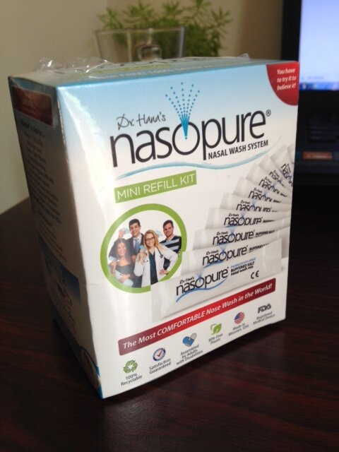 Nước muối rửa mũi xoang NASOPURE Refill Kit