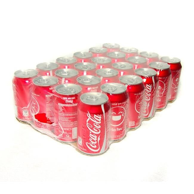 Nước ngọt Coca Cola 330ml x 24