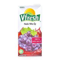 Nước nho ép Vfresh Vinamilk hộp 1L