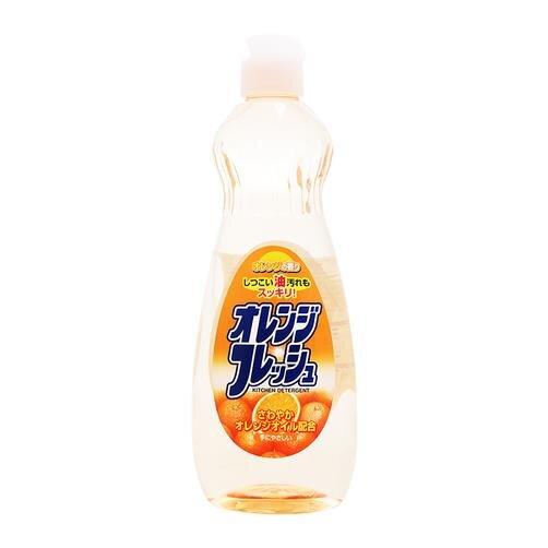 Nước rửa chén hương cam Rocket Soap chai 600ml