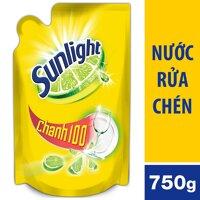 Nước Rửa Chén Sunlight Chanh Dạng Túi 750g