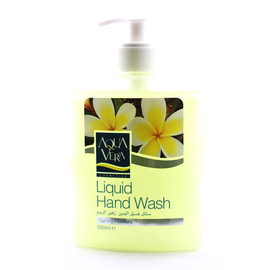 Nước rửa tay dưỡng chất Hoa xuân AQUAVERA 500ml