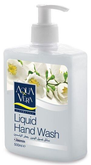 Nước rửa tay dưỡng chất hoa nhài AQUAVERA - 500ml