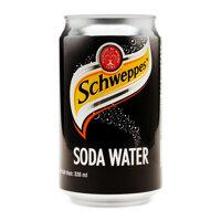 Nước soda có gas Schweppes lon 330ml