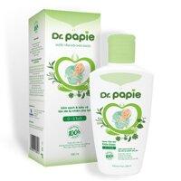 Nước tắm gội thảo dược organnic Dr.papie chai 230ml (0-3 tuổi)