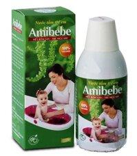 Nước tắm trẻ em Amibebe 125ml