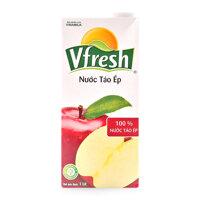 Nước táo ép Vfresh hộp 1L