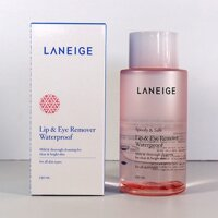Nước tẩy trang dành cho mắt và môi Laneige Lip & Eye Remover Waterproof 150ml