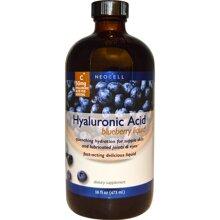 Nước uống bổ sung Neocell Hyaluronic Acid Blueberry Liquid 50mg 473ml