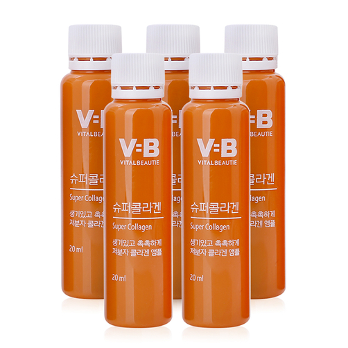 Nước uống Collagen Vital Beautie Super Collagen 5 lọ x 20ml của Hàn Quốc