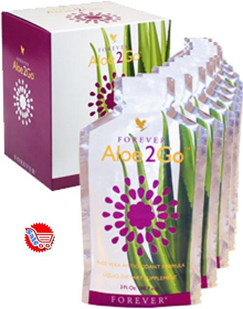 Nước uống dinh dưỡng Forever Aloe2Go
