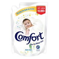 Nước xả vải Comfort cho da nhạy cảm 1.6L
