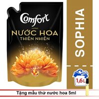 Nước xả vải Comfort Hương Nước Hoa SOFIA Túi 1.6L