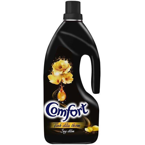 Nước xả vải Comfort tinh dầu thơm say đắm - chai 1.8L
