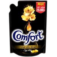 Nước xả vải Comfort tinh dầu thơm say đắm Túi 1600ml