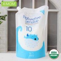 Nước xả vải sơ sinh hữu cơ K-Mom Hàn Quốc 1300ml - KM13124