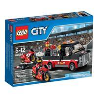 Bộ xếp hình Vận chuyển xe đua Lego 60084