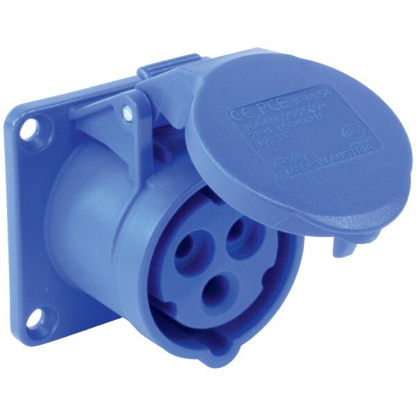 Ổ cắm âm không kín nước IP44 (F323-6) -  thẳng