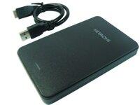 Ổ cứng cắm ngoài Hitachi 500BH - 500GB, USB 2.0