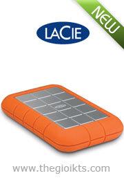 Ổ cứng cắm ngoài LaCie Rugged Triple USB 3.0 - 500GB