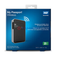 Ổ cứng cắm ngoài Western Digital WD My Passport Wireless WDBDAF0020BBK 2TB, 2.5 inch