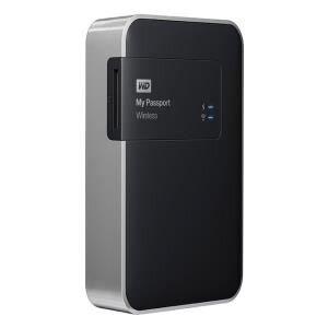 Ổ cứng cắm ngoài Western Digital WD My Passport Wireless WDBK8Z0010BBK - 1TB