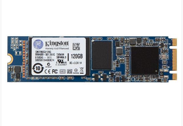 Ổ cứng gắn trong Kingston SSD M2 SATA SM2280SG2 - 120GB